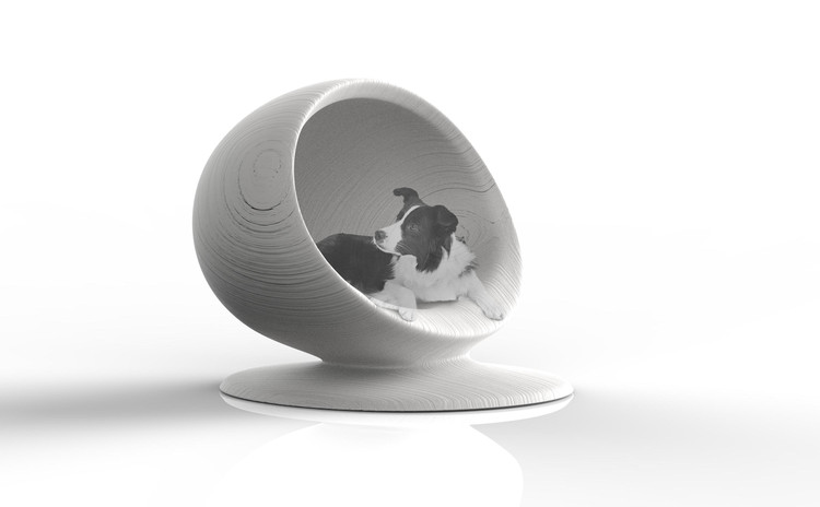Zaha Hadid Architects Among 80 Designers to Create Dog Houses for UK Pet Charity, 'Cloud' - Zaha Hadid Architects. Image Courtesy of Zaha Hadid Architects