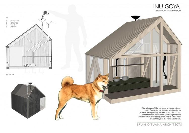 Brian O'Tuama Architects - INU-GOYA. Imagem via BowWow Haus London