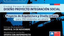 Abren licitación para diseñar proyecto de integración social en la Ciudad Parque Bicentenario en Chile