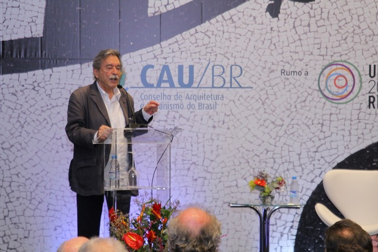"""Paulo Mendes da Rocha: """"Arquitetura não é para ser vista, é para ser vivida"""", © Comunicação CAU/BR"""