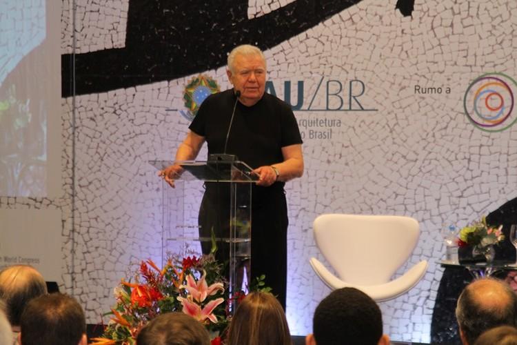Jaime Lerner: Arquitetos precisam ter coragem de fazer coisas simples e imperfeitas, © Comunicação CAU/BR