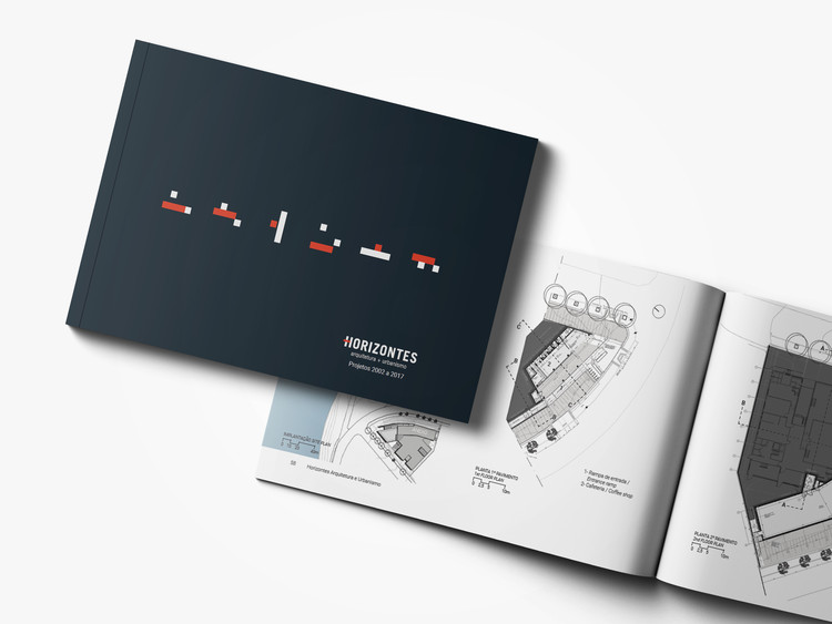 Lançamento do livro Horizontes Arquitetura - Projetos 2002 a 2017, Livro Horizontes Arquitetura. Divulgação