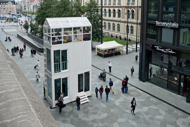 TIKKU Micro-apartment / Marco Casagrande, © Jenni Gästgivar
