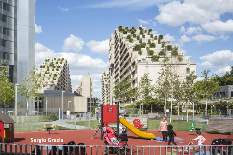 Boulogne Pont de Sèvres Housing Rehabilitation / eliet&lehmann architectes, © Sergio Grazia