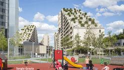 Boulogne Pont de Sèvres Housing Rehabilitation / eliet&lehmann architectes