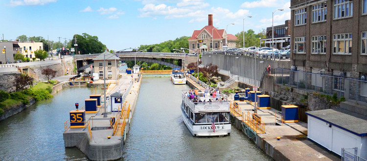 Reimagine the New York State Canal System, Photo by New York Power Authority