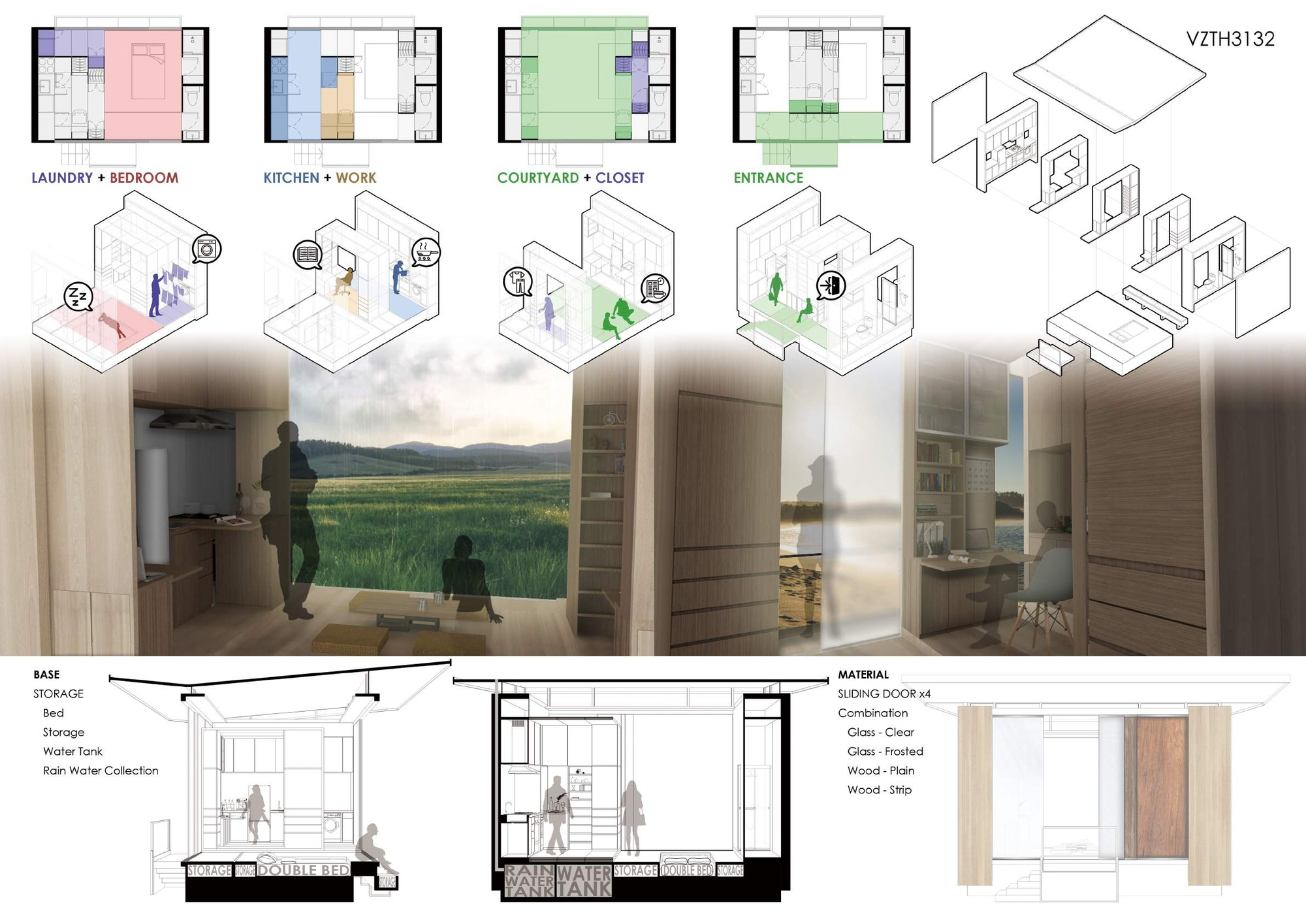 Gallery of tiny house design competition winners revealed 6 for Architecture house design competitions