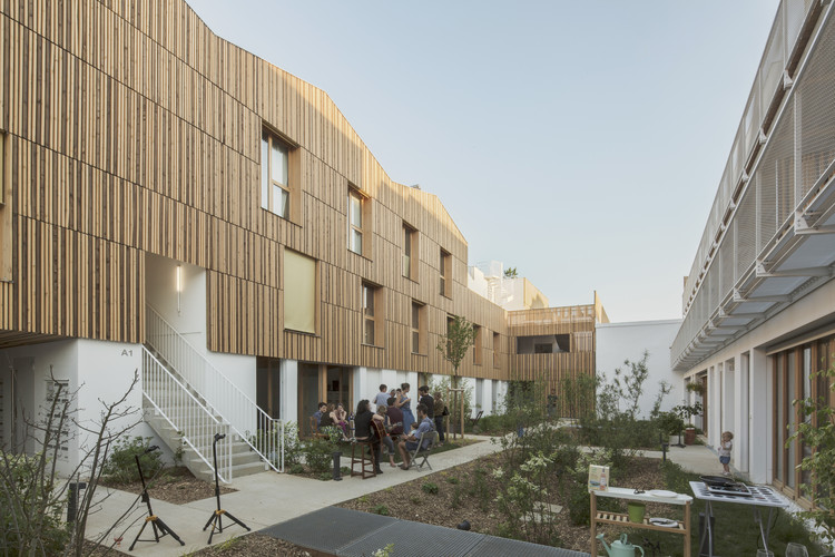 Participatory Habitat in Montreuil / NZI Architectes, © Juan Sepulveda Grazioli