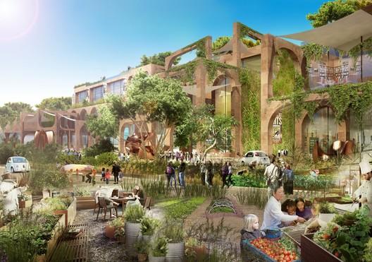 Smart City Prize winner - Media City / Gad Architecture. Image Courtesy of World Architecture Festival