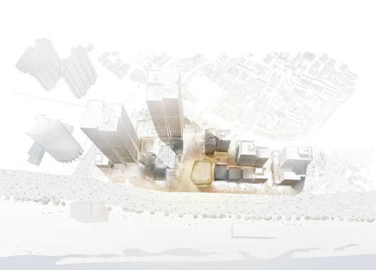 Masterplan Aerial Perspective
