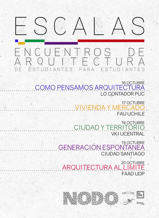 ESCALAS: Encuentros de Arquitectura de Estudiantes para Estudiantes