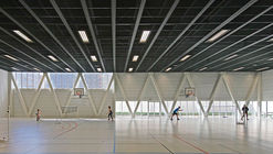 Libergier Sports Centre / philippe gibert architecte