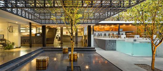 Carlota Hotel, Mexico City, Mexico, 2015. Image © Rafael Gamo