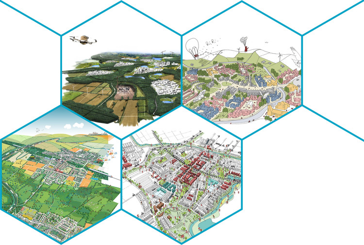 Cambridge To Oxford Connection: Ideas Competition Reveals Gallery of Finalists, © Shortlisted Teams and Malcom Reading Consultants
