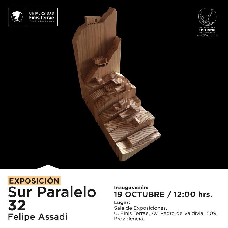 Exposición 'Sur Paralelo 32' de Felipe Assadi