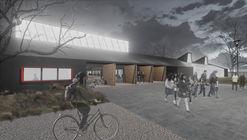 Prado Arquitectos, primer lugar en diseño de escuela municipal San Juan de Aillinco en Chile
