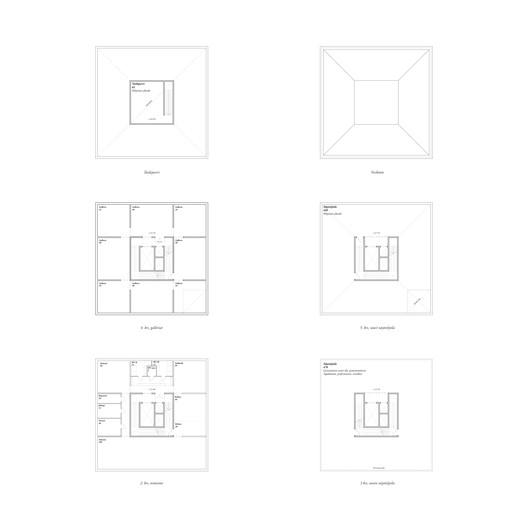 Floorplans (all floors). Image © AOR
