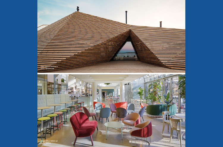 Architecture in Finland: From Alvar Aalto to New Generations, Löyly, Avanto Architects, Helsinki - Photo: © kuvio.com     Teatteri, Design Office KOKO3, Helsinki - Photo: © Teatteri