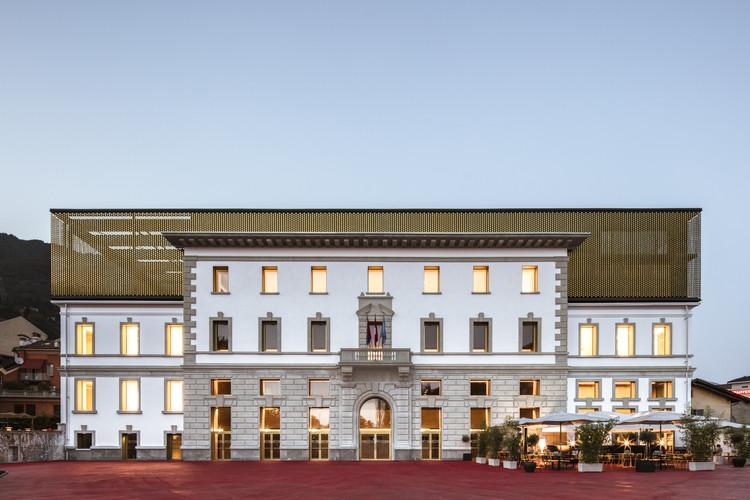 Palazzo del Cinema di Locarno / AZPML + DFN Dario Franchini, © Giorgio Marafioti