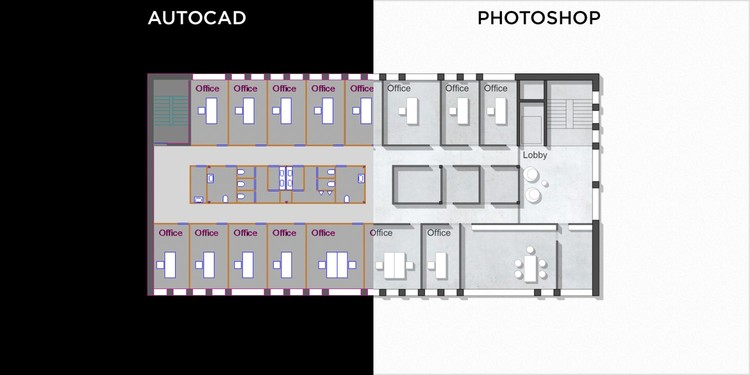 How To Make Beautiful Stylized Floor Plans Using Photoshop Archdaily