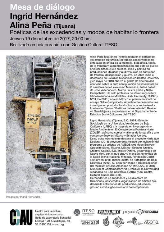 Poéticas de las excedencias y modos de habitar lo frontera., CCAU