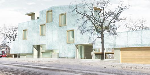 Maison Glacé / ELASTICOSPA+KFA. Image Courtesy of ELASTICOSPA+KFA