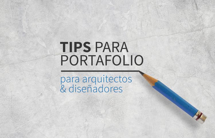 Tips para portafolio para arquitectos y dise adores for Diseno de interiores un manual pdf