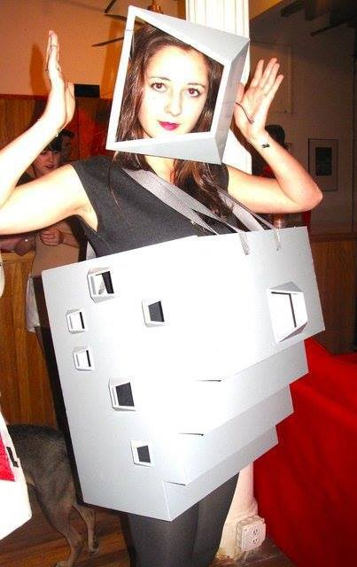 Original Costumes.Gallery Of Architecture Costumes For Halloween Carnival And