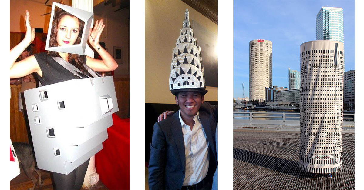 Architecture Costumes For Halloween, Carnival and Office Parties