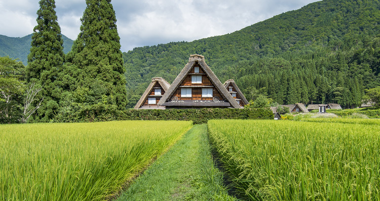 Architectural Adventures: Architectural Tour of Japan, Shirakawago, Japan
