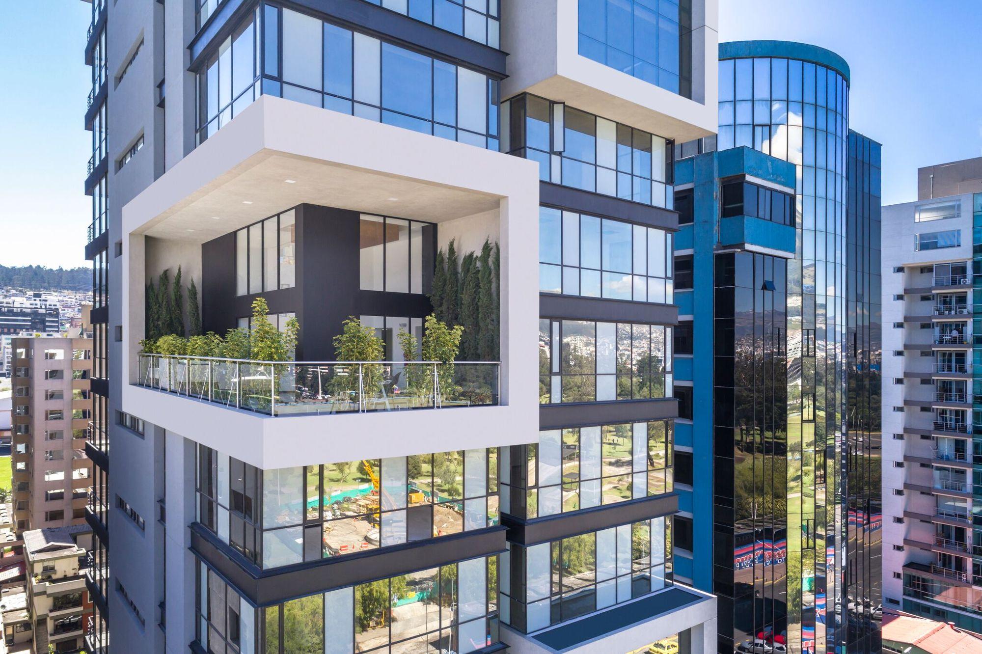 Edificio portimao esteban duthan shaell duthan for Arquitectura departamentos modernos