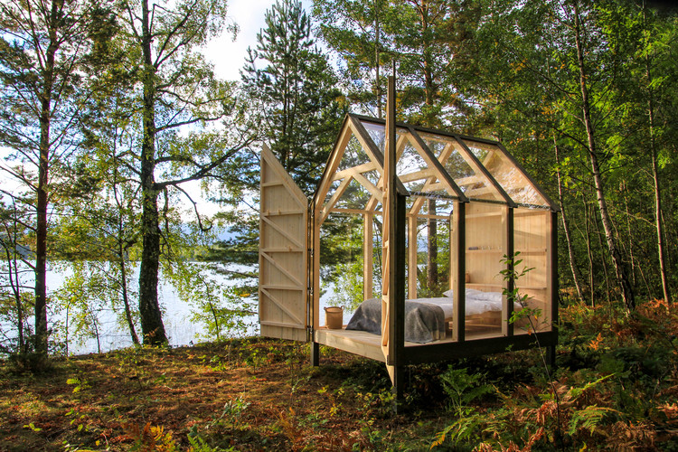 72h Cabin / JeanArch, © Jeanna Berger