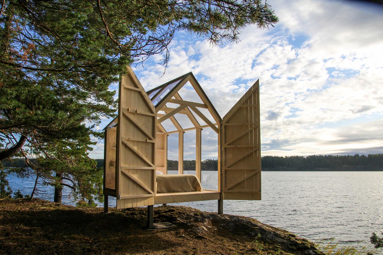 72h Cabin / JeanArch,© Jeanna Berger