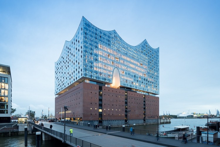 16. Elbphilharmonie, Hamburg ($1,027,510,000). Image © Iwan Baan
