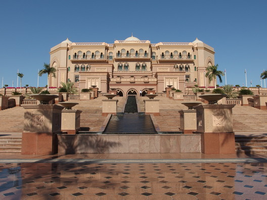2. Emirates Palace, Abu Dhabi ($3 billion). Image © <a href='https://www.flickr.com/photos/o_0/15856776560'>Flickr user Guilhem Vellut</a> licensed under <a href='https://creativecommons.org/licenses/by/2.0/'>CC BY 2.0</a>