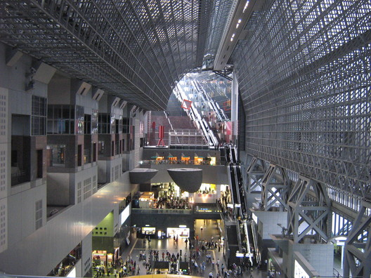 14. Kyoto Station, Kyoto ($1.25 billion). Image © <a href='https://www.flickr.com/photos/andersondotcom/484730029/'>Flickr user Gavin Anderson</a> licensed under <a href='https://creativecommons.org/licenses/by-sa/2.0/'>CC BY-SA 2.0</a>
