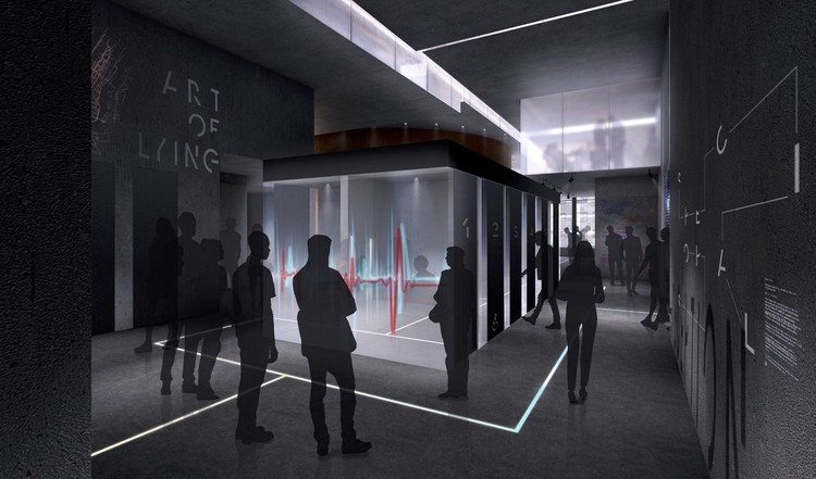 Interactive Spy Museum Designed by Adjaye Associates to Open in New York City, Courtesy of Adjaye Associates