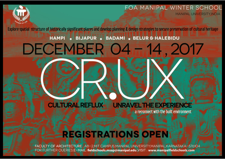 CR.UX—Winter School , Field Schools presents CR.UX