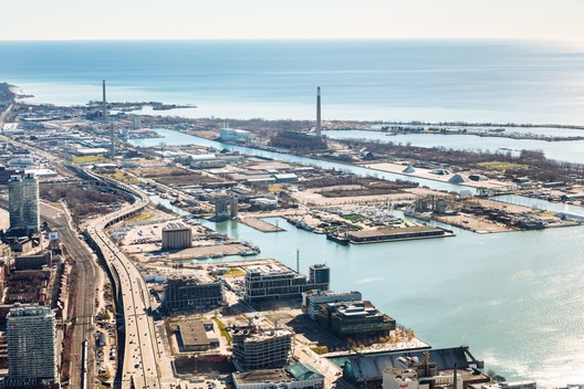 Eastern Waterfront as it looks today. Image Courtesy of Sidewalk Labs