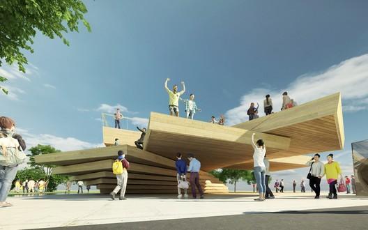 Infinity Platform / Zhang Ruizhao. Image Courtesy of WKCDA