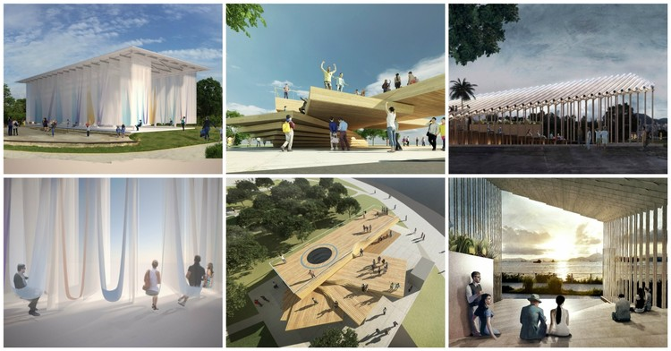 3 Pavilion Designs Shortlisted in Hong Kong Young Architects and Designers Competition, Courtesy of WKCDA