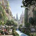 Greenspace Takes Over London with WATG's 'Green Block' Proposal