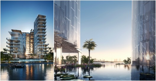 Ateliers Jean Nouvel-Designed Man-Made Lagoon Highrise in Miami Begins Construction
