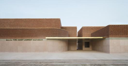 musée YVES SAINT LAURENT marrakech. Image © Nicolas Mathéus