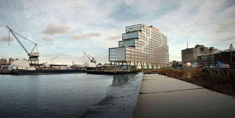 S9 Architecture's Dock 72 Tops Out in Brooklyn, Courtesy of S9 Architecture