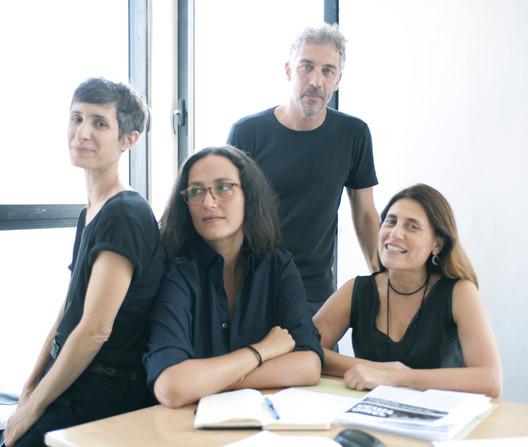Israeli Curatorial Team (2018 Venice Architecture Biennale). Image © Daniel Sheriff