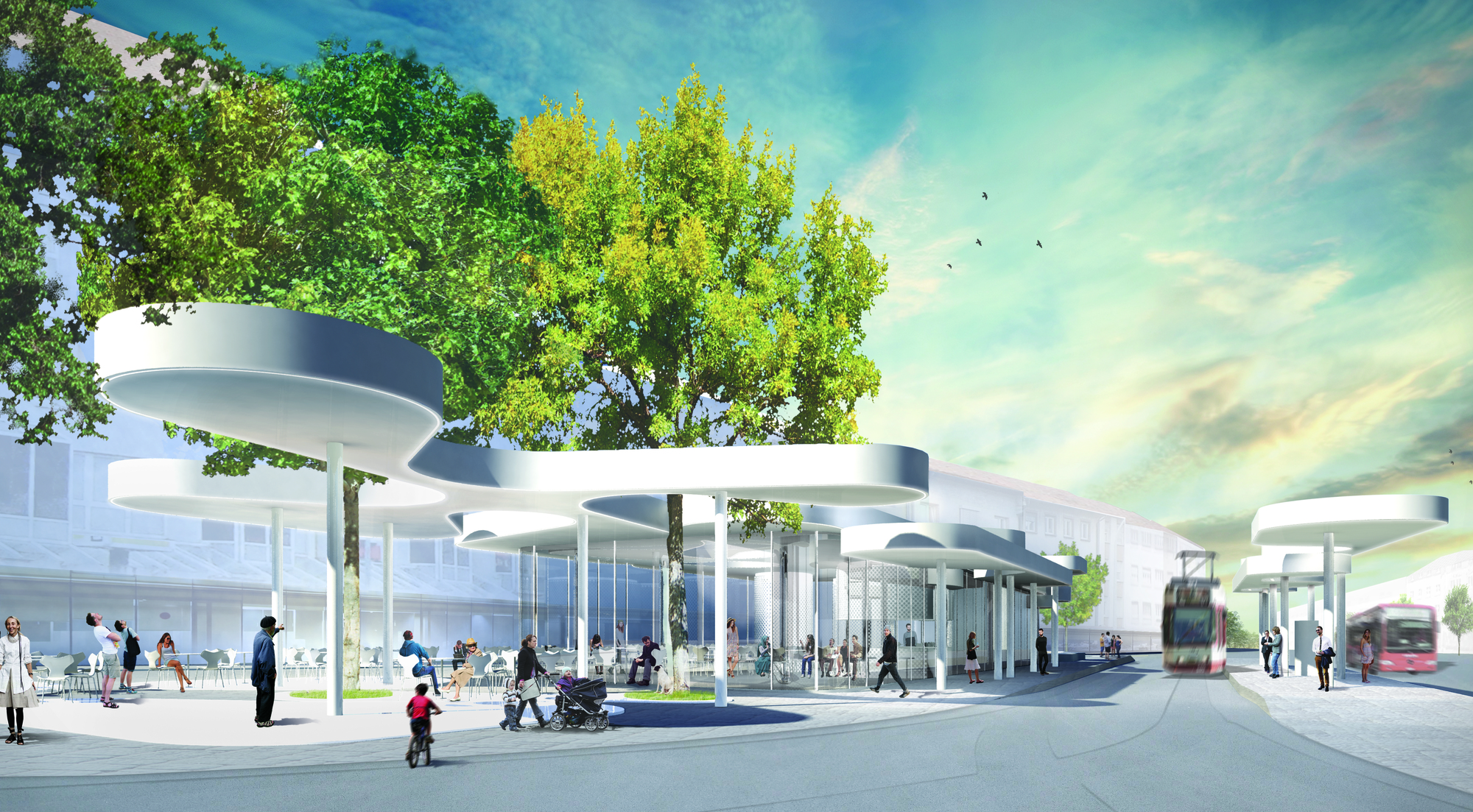 Germany S Newest Transportation Pavilion Features Dynamic