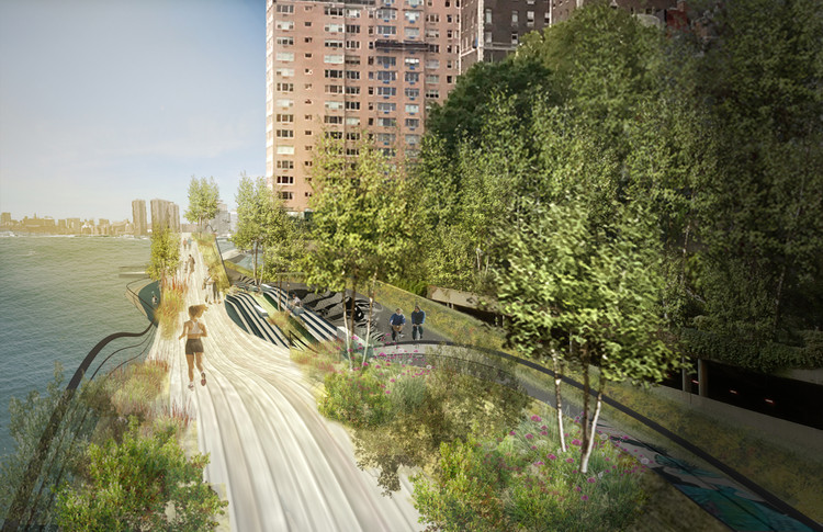 New York City's Proposal for the Missing Green-Link in Midtown, Courtesy of wHY