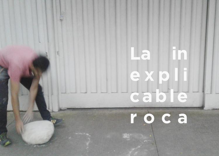"""Inauguración """"La inexplicable roca"""": Alberto Odériz, Cortesía de Sismo"""
