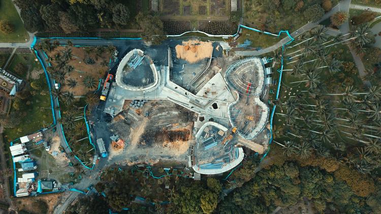 Así avanza el Tropicario de Bogotá, diseñado por DARP, Cortesía de DARP